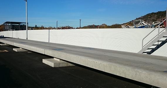 Fordonsvåg i betong, fordonsvåg, betongvåg