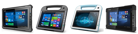 Getac- Ruggade tablets