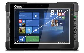 """Getac T800 - Brilliant 8.1"""" Display"""