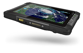 Getac T800 - thin and light